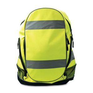 Hi Vis Kuning Peringatan Reflective Safety Backpack