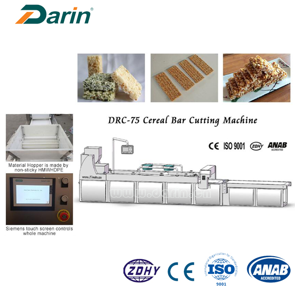 Barras de Granola Bar / Muesli Bar / Cereal Bar Cutting Machine