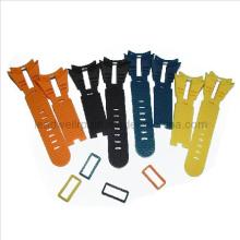 Uhrenarmband in verschiedenen Farben Soft Rubber Vacuum Prototyp (LW-05005)