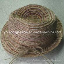 Мода Mix красочные соломенной шляпе