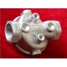 Soem-Aluminiumlegierung Druckguss für Filtergehäuse zerteilt ADC12