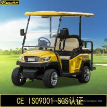 China 4 Sitzer elektrische Golf Buggy mit Flip-Flop Rücksitz