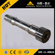 Bulldozer Spare Parts TY160 SD16 SD22 turbine shaft 16y-11-00018