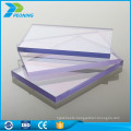 Uv coating plastic 4mm twin wall lowes solid polycarbonate roof sheet