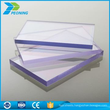 10 years warranty UV 6mm thick anti static polycarbonate plastic flat roof sheet