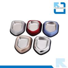 Multi-color de acero inoxidable de alimentos para mascotas contenedor y comida para mascotas Bowl