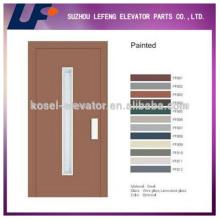 Puertas / ascensores de ascensor semi-automático Puerta manual