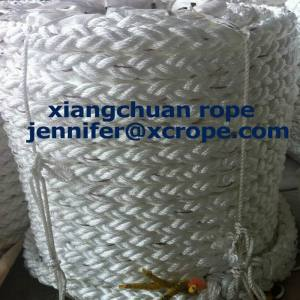 Polyester 8 Strands 30mm Mooring Rope