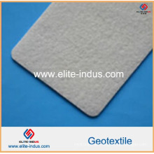 White PP High Strength Needle Punching Geotextile