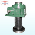 Motor Driven 10 Tons Upside Down Installation 2 Units Synchronous Screw Jack