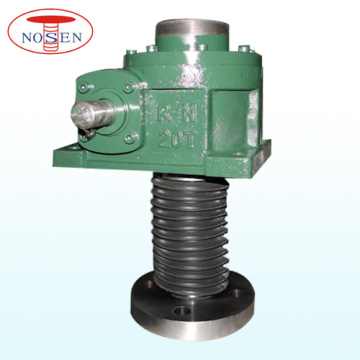 Professional Manufacturer for Worm Gear Mechanical Screw Jacks Motor Driven 10 Tons Upside Down Installation 2 Units Synchronous Screw Jack supply to Japan Factories