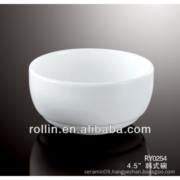 Korean style crockery bowl, round bowl