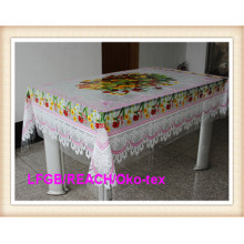 Independ Designs PVC Printed Clear Tablecloth in Wholesales