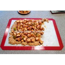 LFGB FDA Standard Food Grade Hitzebeständige Antihaft-Silikon Backmatte - 2 Pack