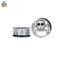 Orelha piercing aros Stainless Steel Flared Plugs