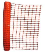 orange mesh safety fencing