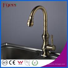 Fyeer Einhand Antik Messing Küchenspüle Wasserhahn (QH1705)