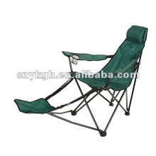 foldable arm chair with footrest