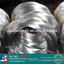 Arame de ferro galvanizado eletro / fio de ferro preto / fio de ligação galvanizado (fábrica de Anping)