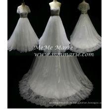 Hochzeitskleider zum Verkauf Online Lace Stoff Schal Kleider Sweetheart Brautkleid BYB-14564