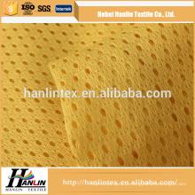 Barato e de alta qualidade poliéster 100% tecido de malha de malha de poliéster