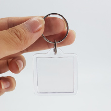 Hot sale for Acrylic Keychain Small Gift 40mm 40mm Digital Picture Holder Keychain export to St. Pierre and Miquelon Wholesale