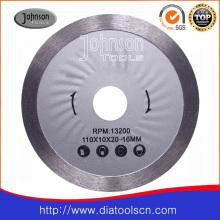 Lâmina de serra contínua sinterizada: 115mm
