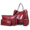 Small handbag side shoulder ladies-bag with metal buckle