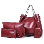 Small handbag side shoulder ladies-bag with metal buckle