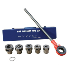 "HLD-Q74 Ratchet Pipe Threader Kit 1/4"" to 1 """