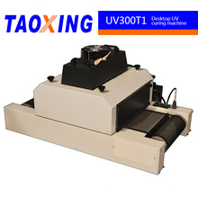 hot sale high preformance china made TX-UV300/1 UV desktop curing machine