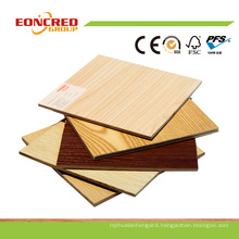 Furniture Grade Melamine Plywood (Hardwood Core/Combi Core/Finjer Joint Core)