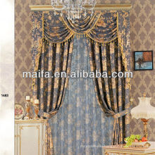 2013 new design luxury drapery for window/living room/hotel