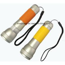 Zoom CREE XPE LED Linterna, 3xaaa, Grip de goma (FH-Y1504)
