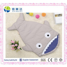 Плюшевая детская спальная сумка / Спальный мешок акулы