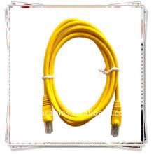 Premium CAT 5E Código del cable de conexión para el cable Ethernet LAN de red 5 pies 5 'AMARILLO