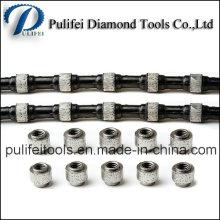 Grânulos de Círculo de Diamante Soldados Galvanizados por Sinterização Usados