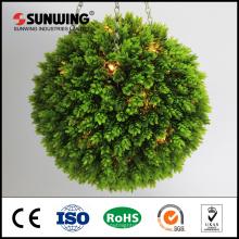 Bola de boj artificial decorativa de encargo del topiary para la decoración del centro comercial