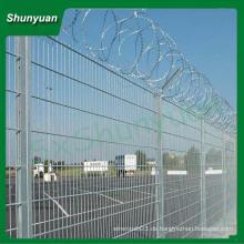 China Großhandel ISO zertifiziert verzinktem Stahl Coiled Stacheldraht