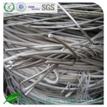 Scraps de fil d'aluminium 99,7%