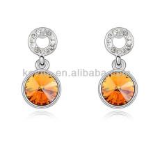 Cheap cristal elemento umode moda jóias brincos