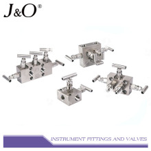 Stainless Steel Suitable Instrument 5way Valve Manifold
