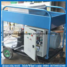 500bar elektrische 22kw Hochdruck Wasser Jet Schiffsrumpf Reiniger
