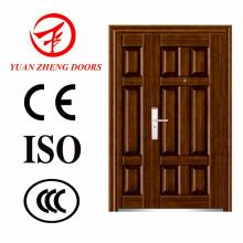 Yuanzheng Stahl Sicherheit Doppel-Tür
