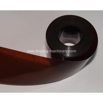 shoelace brown tipping film
