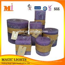 As artes elegantes e Handcrafts velas luxuosas altas para a decoração home