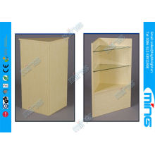 Retail Store Commercial Display Cabinets , Adjustable Maple Open Showcase