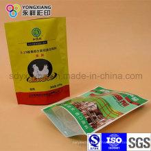 Stehen Sie Zippock Plastikverpackungsbeutel für Tagesprodukt auf