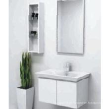 Gabinete de baño caliente del PVC de la venta con el espejo