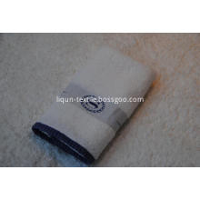 100% cotton yarn dyed satin drill hand towel